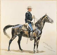 Frederic Remington~Lieutenant Casey Commandant of