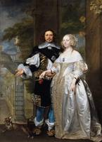 Gonzales Coques~Portrait of a Married Couple in th