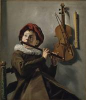 Judith Leyster~Boy playing the Flute