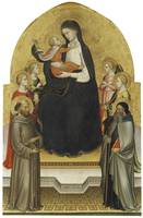 Mariotto di Nardo~Madonna and Christ Child with An