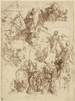 Paolo Veronese~Sheet of Studies for The Martyrdom