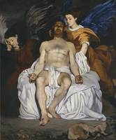 Édouard Manet~The Dead Christ with Angels