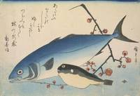 Hiroshige~Yellowtail (Inada) and Blowfish (Fugu) w