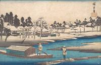 Hiroshige~東都名所 真崎雪晴ノ図Clearing Weather after Snow a