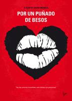 No1184 My Por un punado de besos minimal movie pos