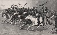 Frederic Remington~The Charge on the Sun-Pole