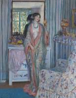 Frederick Carl Frieseke~The Robe