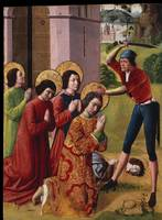 French~Martyrdom of Saints Cosmas and Damian with