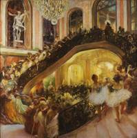 Gaston La Touche~The Masquerade Ball - Grand Opera