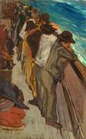 George Benjamin Luks~In the Steerage