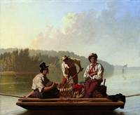 George Caleb Bingham~Boatmen on the Missouri