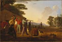 George Caleb Bingham~Shooting for the Beef