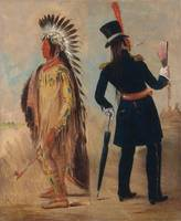 George Catlin~Wi-jún-jon, Pigeon's Egg Head (The L