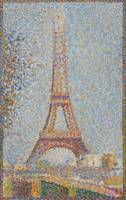 Georges Seurat~Eiffel Tower
