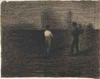 Georges Seurat~Peasants