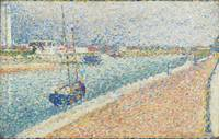 Georges Seurat~The Channel at Gravelines, Petit-Fo