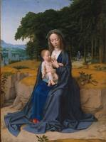 Gerard David~The Rest on the Flight into Egypt