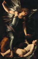 Giovanni Bagloni~The Divine Eros Defeats the Earth