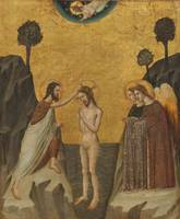 Giovanni Baronzio~The Baptism of Christ
