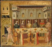 Giovanni Baronzio~The Feast of Herod and the Behea