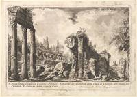 Giovanni Battista Piranesi~Remains of the Temple o