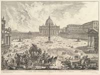 Giovanni Battista Piranesi~View of St. Peter's Bas
