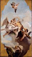 Giovanni Battista Tiepolo~Virtue and Nobility putt