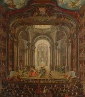 Giovanni Michele Graneri~Interior of the Teatro Re