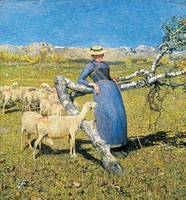 Giovanni Segantini~High Noon in the Alps