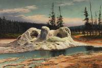 Grafton Tyler Brown~Grotto Geyser Yellowstone