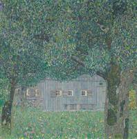 Gustav Klimt~Farmhouse in Buchberg (Upper Austrian