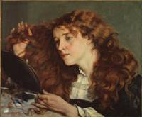 Gustave Courbet~Jo, the Beautiful Irish Girl