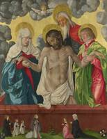 Hans Baldung~The Trinity and Mystic Pietà