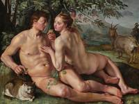 Hendrick Goltzius~The Fall of Man