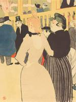 Henri de Toulouse-Lautrec~At the Moulin Rouge, la