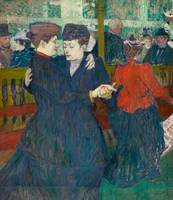 Henri de Toulouse-Lautrec~At the Moulin-Rouges, Tw