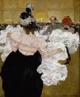 Henri Evenepoel~At the Moulin Rouge