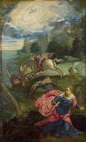 Tintoretto~Saint George and the Dragon