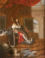 Henri Testelin~Louis XIV Protector of the Royal Ac