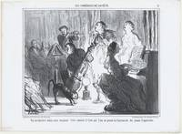 Honoré Daumier~An Orchestra in a Fashionable Resid