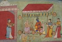 Indian (Bikaner)~The Marriage of Krishna and Rukmi