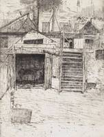 J. Alden Weir~The Carpenter's Shop