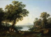Jacob Philipp Hackert~Riverside Landscape