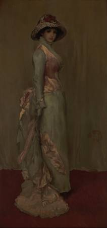 James Abbott McNeill Whistler~Harmony in Pink and