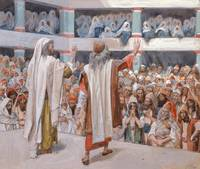 James Jacques Joseph Tissot~Moses and Aaron Speak