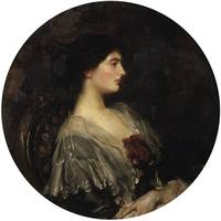 James Jebusa Shannon~Portrait of Lady Ulrica Dunco