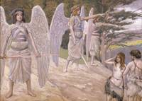 James Tissot~Adam and Eve Driven From Paradise