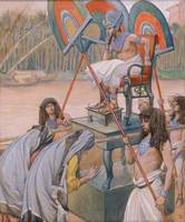 James Tissot~Pharaoh and the Midwives