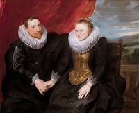 Anthony van Dyck~A married couple