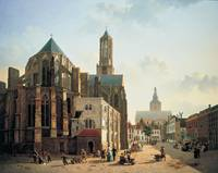 Jan Hendrik Verheijen~View of the choir and tower
